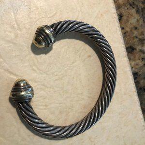 David Yurman signature bracelet